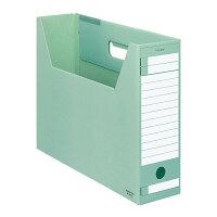 コクヨ ファイルボックス インターグレイ Dタイプ 収納幅94mm B4 緑 B4-LFD-G