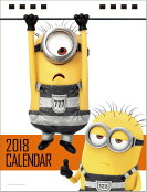 卓上 怪盗グルーのミニオン大脱走(2018カレンダー)