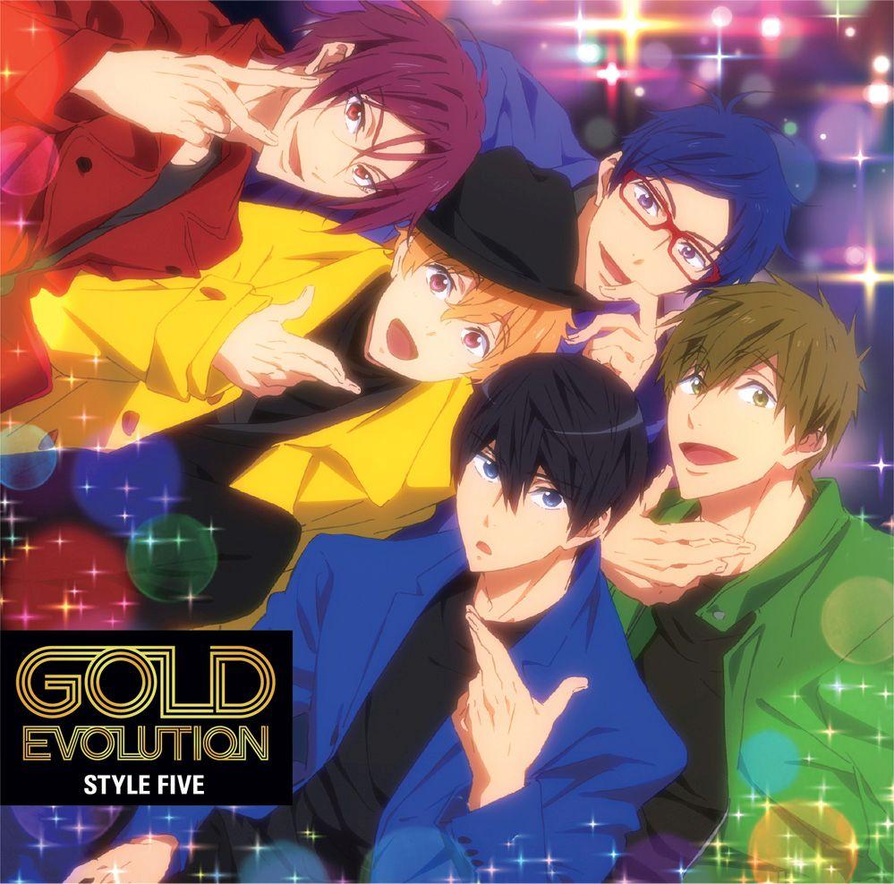 TVアニメ『Free!-Dive to the Future-』ED主題歌「GOLD EVOLUTION」画像