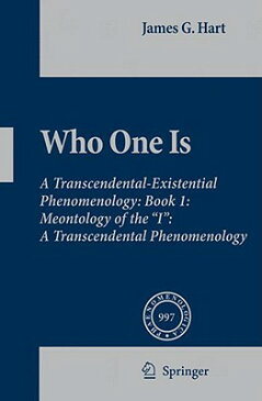 Who One Is: Book 1: Meontology of the