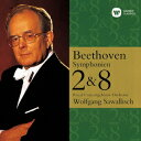 ベートーヴェン:交響曲 第2番 第8番 [ ヴォルフガング・サヴァリッシュ ]