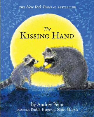 洋書, BOOKS FOR KIDS The Kissing Hand With Stickers KISSING HAND Kissing Hand Audrey Penn