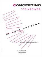 【輸入楽譜】クレストン, Paul: マリンバのための小協奏曲