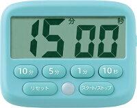 ソニック デジタルタイマー トキ・サポ 光ってお知らせ ライトブルー LV-3051-LB