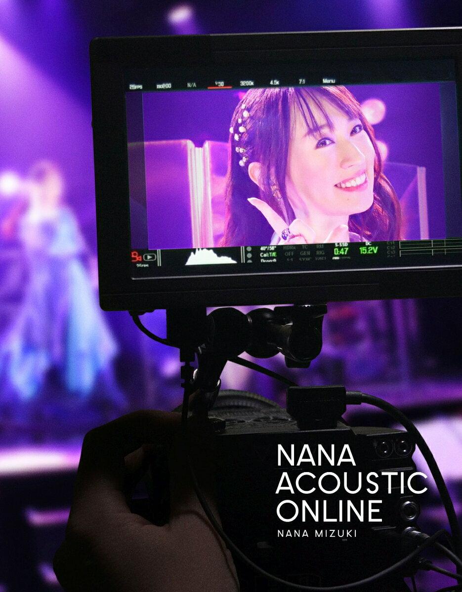 【楽天ブックス限定先着特典+先着特典】NANA ACOUSTIC ONLINE【Blu-ray】(アクリルキーホルダー(ロゴ)+B2告知ポスター)