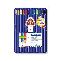 エルゴソフト色鉛筆太軸 12色セット