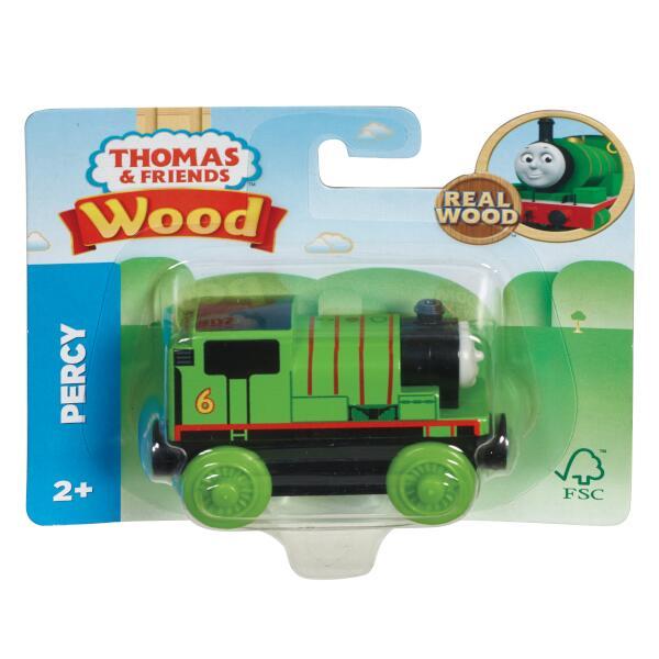 きかんしゃトーマス 木製レールシリーズ パーシー 【SFC認証取得】木のおもちゃ 車両 GGG30画像