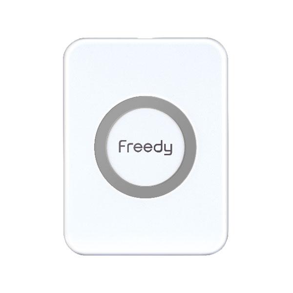 【タイムセール】Freedy Qi対応 ミニ ワイヤレス充電パッド 5W ホワイト