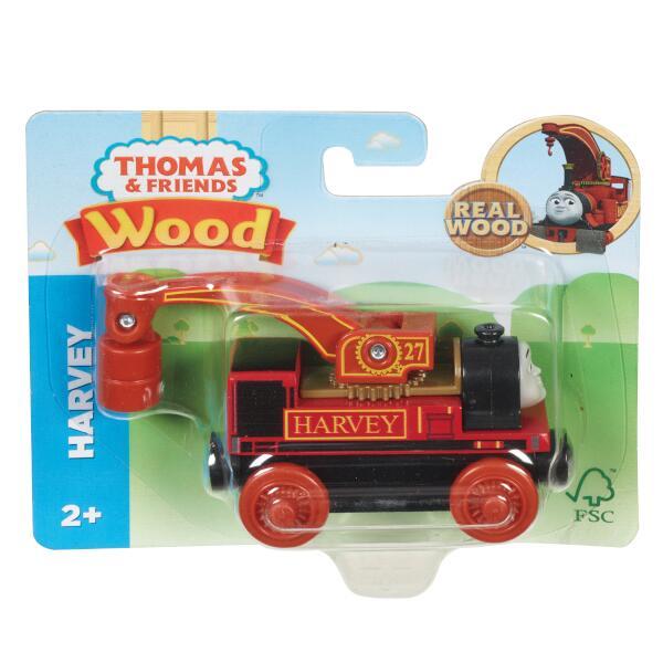 きかんしゃトーマス 木製レールシリーズ ハーヴィー 【SFC認証取得】木のおもちゃ 車両 GGG32画像