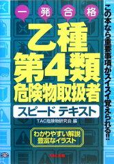 【送料無料】乙種第4類危険物取扱者スピードテキスト