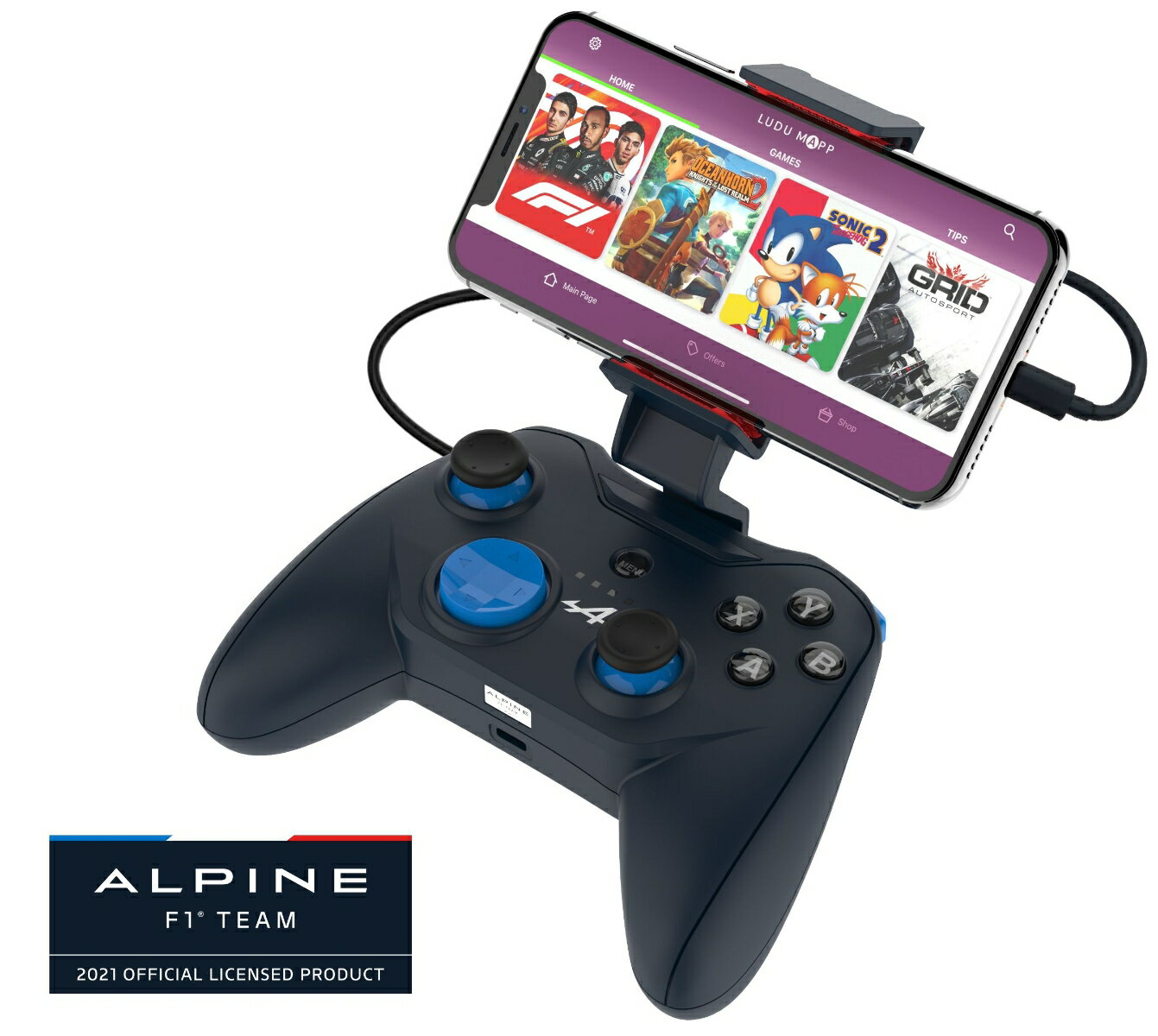 Rotor Riot Wired Game Controller RR1850 Alpine Edition