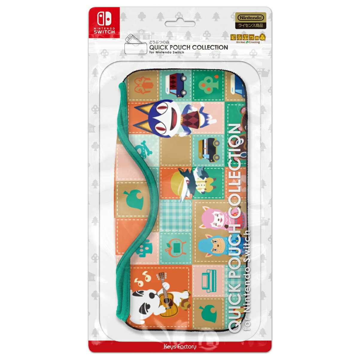 QUICK POUCH COLLECTION for Nintendo Switch どうぶつの森Type-A