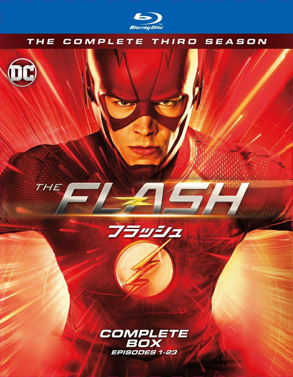 THE FLASH / フラッシュ<サード・シーズン>ブルーレイ コンプリート・ボックス(4枚組)【Blu-ray】