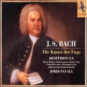 【送料無料】【輸入盤】Die Kunst Der Fuge: Savall / Hesperion Xx [ バッハ(1685-1750) ]