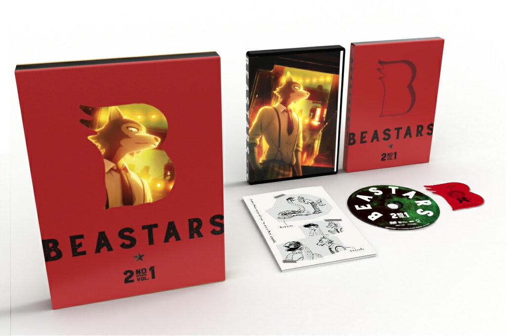 BEASTARS 2nd Vol.1 初回生産限定版【Blu-ray】画像