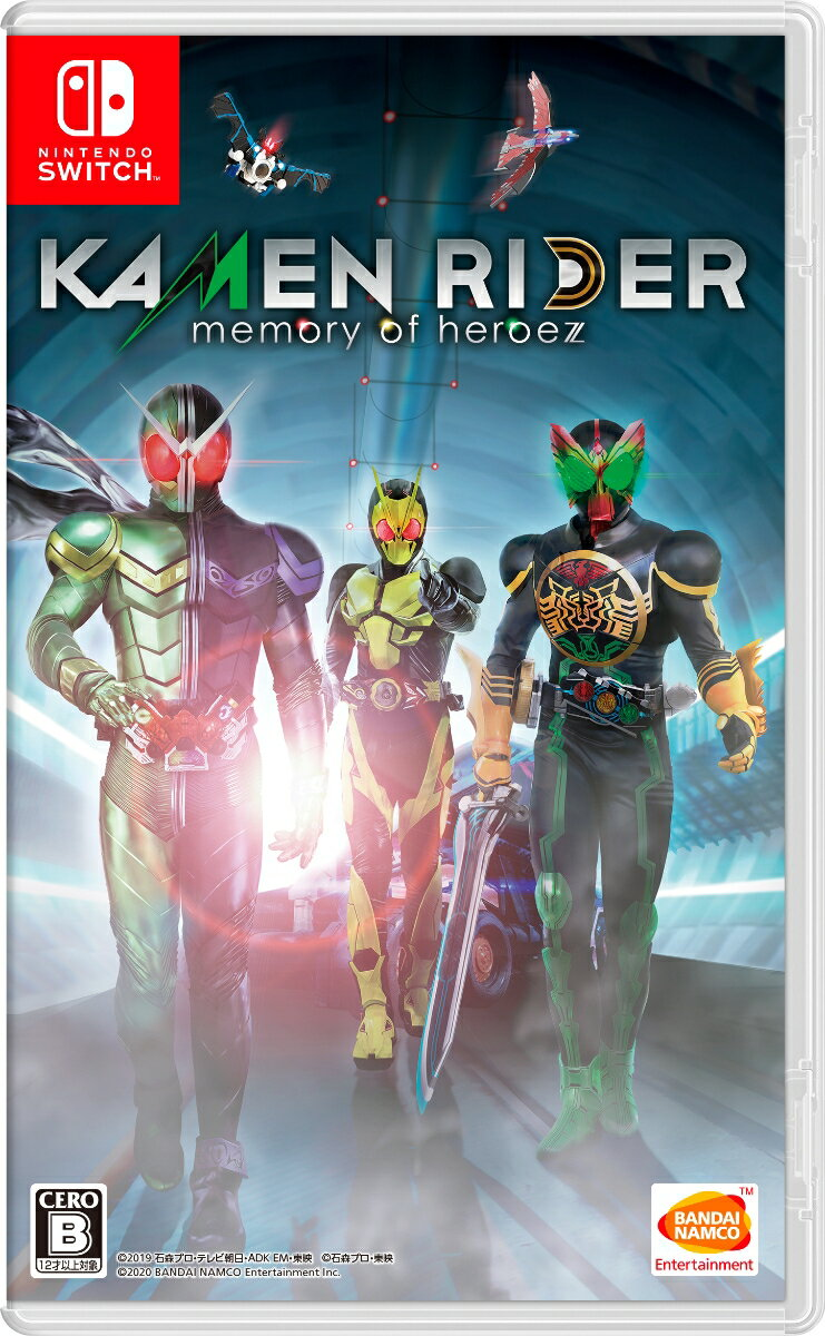 Nintendo Switch, ソフト KAMENRIDER memory of heroez Switch