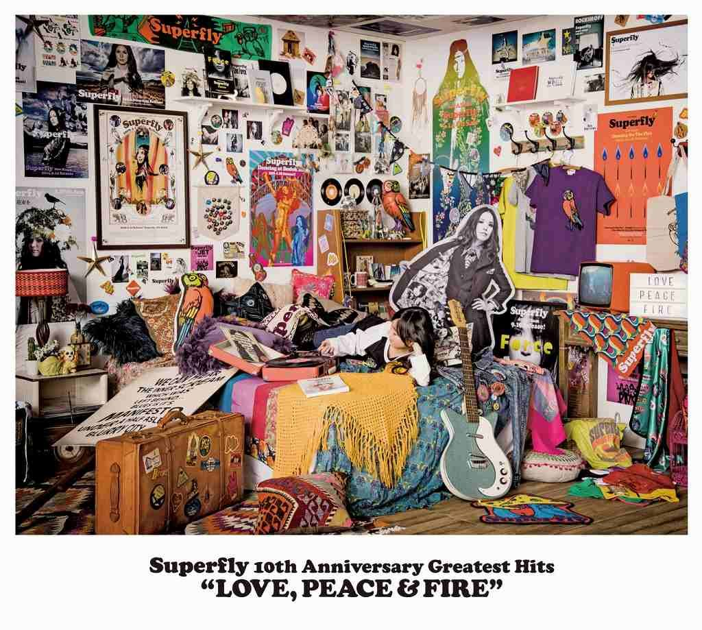 Superfly 10th Anniversary Greatest Hits 「LOVE, PEACE & FIRE」 (通常盤 3CD)画像
