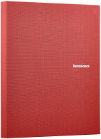 セキセイ アルバム ポケット ハーパーハウス レミニッセンス ミニポケットアルバム Lサイズ 80枚収容 布 レッド XP-80M