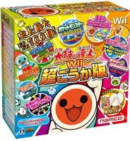 太鼓の達人Wii 超ごうか版 コントローラー「太鼓とバチ」同梱版の画像
