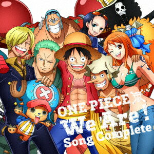 ONE PIECE ウィーアー! Song Complete画像