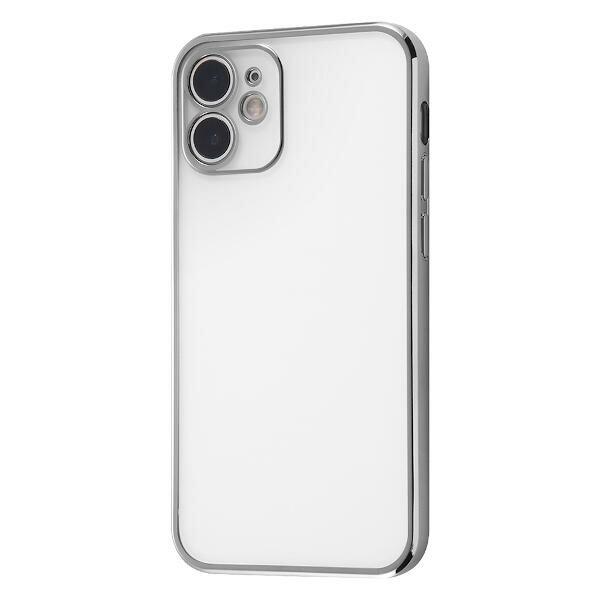 iPhone 12 mini Perfect Fit メタリックケース/シルバー