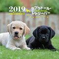 2019年大判カレンダー ラブラドール・レトリーバー