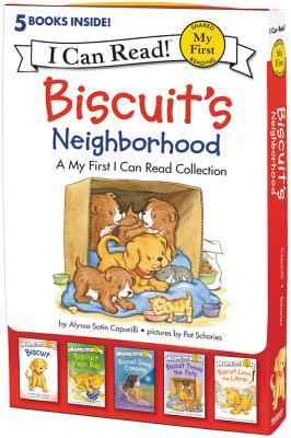 洋書, BOOKS FOR KIDS Biscuits Neighborhood: 5 Fun-Filled Stories in 1 Box! BOXED-BISCUITS NEIGHBORHOOD-5V My First I Can Read Alyssa Satin Capucilli