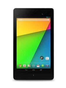 Google Nexus 7 2013 TABLET ブラック (7inch/APQ8064/Android™) 32GBモデル