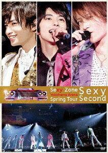 Sexy Zone Spring Tour Sexy Second 【通常盤】画像