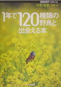 【送料無料】1年で120種類の野鳥と出会える本 [ 中野泰敬 ]