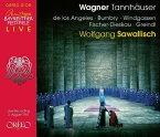 【輸入盤】『タンホイザー』全曲 サヴァリッシュ&バイロイト、ヴィントガッセン、フィッシャー=ディースカウ、ロス・アンヘレス、他(1961 [ ワーグナー(1813-1883) ]