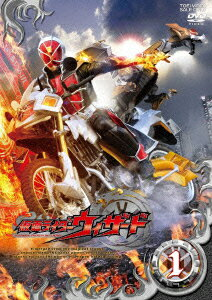 Kamen Rider wizard DVD VOL.1