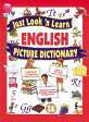 Just Look 'n Learn English Picture Dictionary JUST LOOK N KEARN ENGLISH PIC (Just Look 'n Learn Picture Dictionary) [ Daniel Hochstatter ]