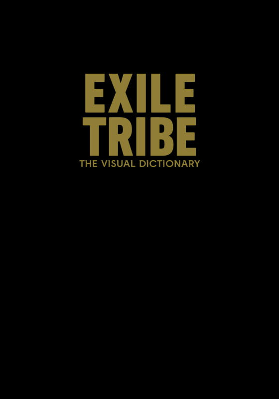 EXILE TRIBE THE VISUAL DICTIONARY 通常版