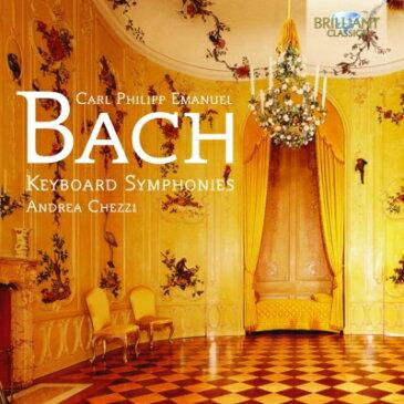 【輸入盤】鍵盤楽器による交響曲集 アンドレア・ケッツィ [ バッハ、C.P.E.(1714-1788) ]