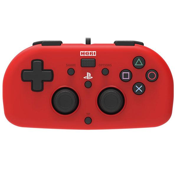 ワイヤードコントローラーライト レッド for PlayStation 4