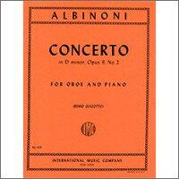 【輸入楽譜】アルビノーニ, Tomaso: オーボエ協奏曲 ニ短調 Op.9-2(オーボエとピアノ)/Giazotto編