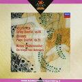 ベートーヴェン(マーラー編):弦楽四重奏曲第11番「セリオーソ」; ブラームス(シェーンベルク編):ピアノ四重奏曲第1番