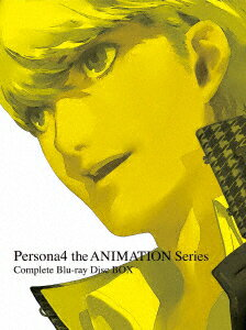 Persona4 the ANIMATION Series Complete Blu-ray Disc BOX【Blu-ray】
