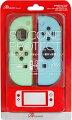 Switchジョイコン用 シリコンプロテクト (ライトブルー&ライトグリーン)の画像