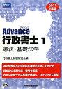 【送料無料】Advance行政書士(2011年度版 1)
