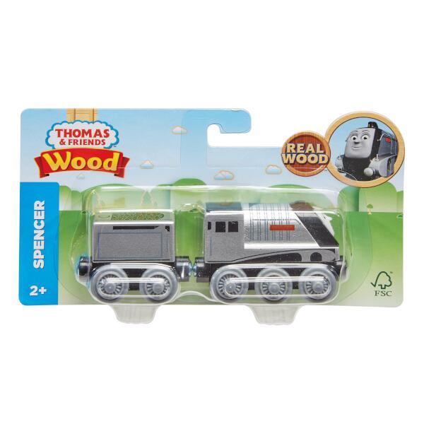 きかんしゃトーマス 木製レールシリーズ スペンサー 【SFC認証取得】木のおもちゃ 車両 GGG68画像