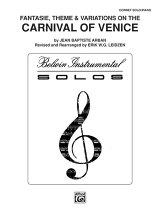 【輸入楽譜】アーバン, Jean-Baptiste: ヴェニスの謝肉祭