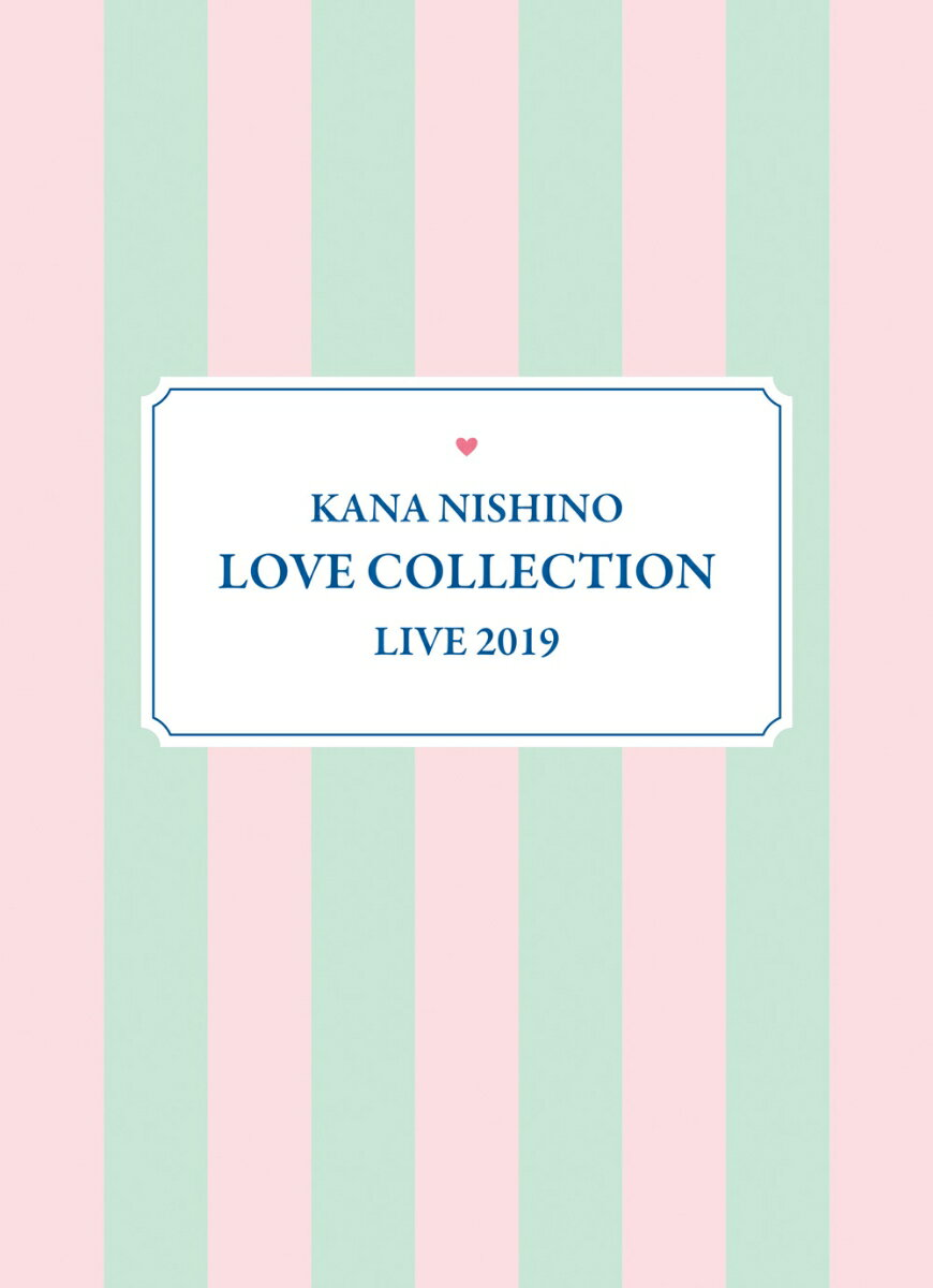 Kana Nishino Love Collection Live 2019(完全生産限定盤 Blu-ray)【Blu-ray】