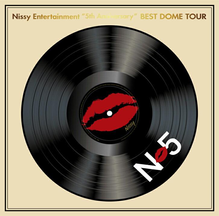 """【先着特典】Nissy Entertainment """"5th Anniversary"""" BEST DOME TOUR(スマプラ対応)(初回生産限定 特殊BOX仕様)(A2サイズポスター付き)【Blu-ray】"""