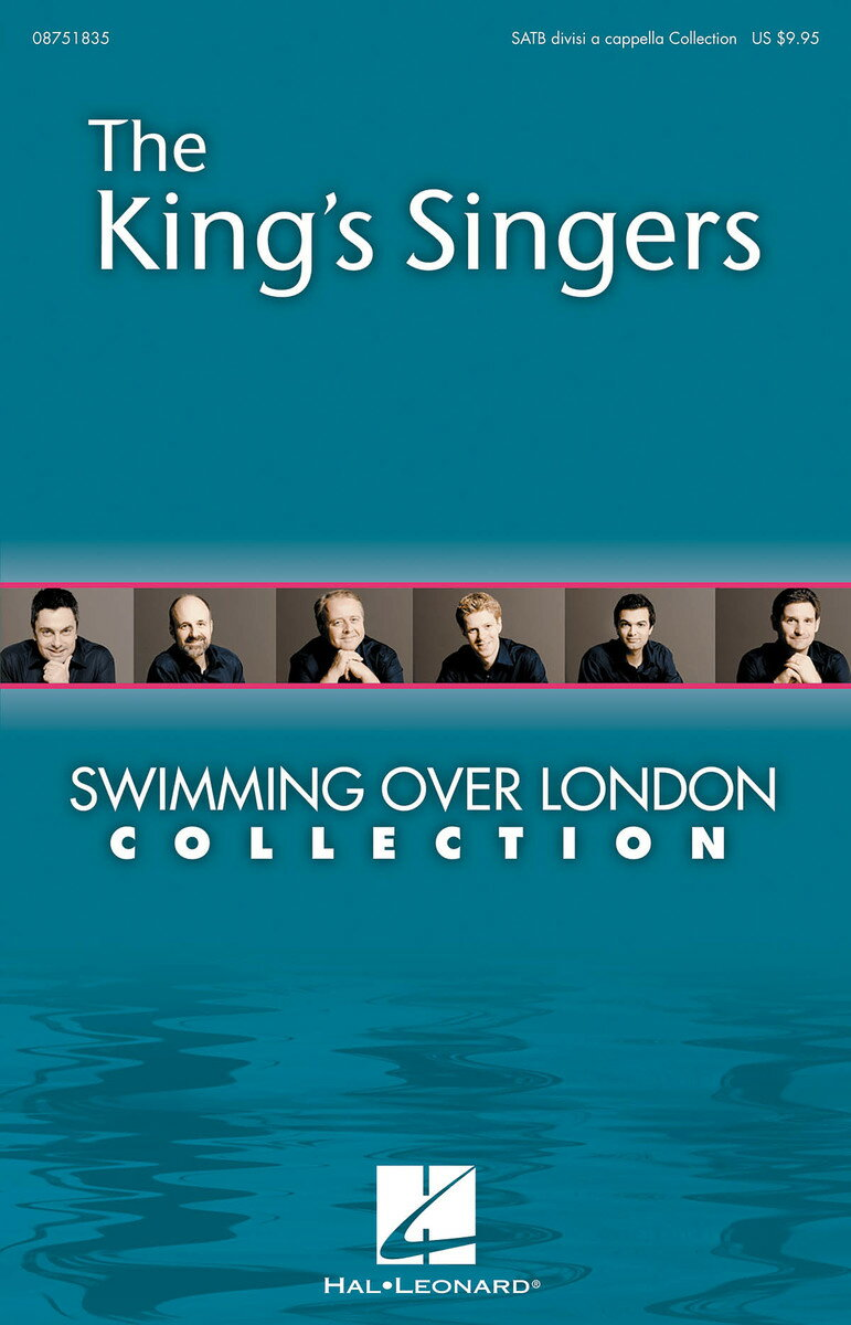 【輸入楽譜】キングス・シンガース: Swimming over London(Collection) (S,A,T,B DV A Cappella)画像