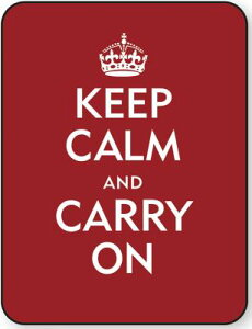 【送料無料】Keep Calm & Carry on Kindle & Kobo Touch Neoskin Jacket
