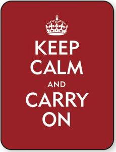 【送料無料】Keep Calm & Carry on Kindle & Kobo Touch Neoskin Jacket