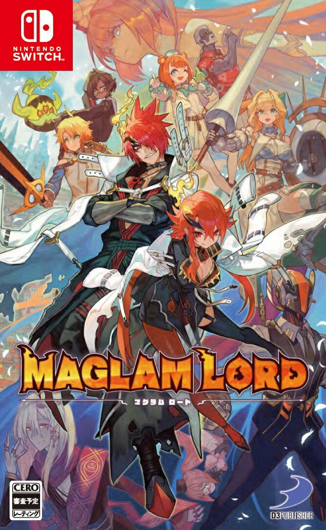 【特典】MAGLAM LORD/マグラムロード Switch版(【予約封入特典】デコアイテム「刃の魔王の剣」がもらえるダウンロードコードチラシ)