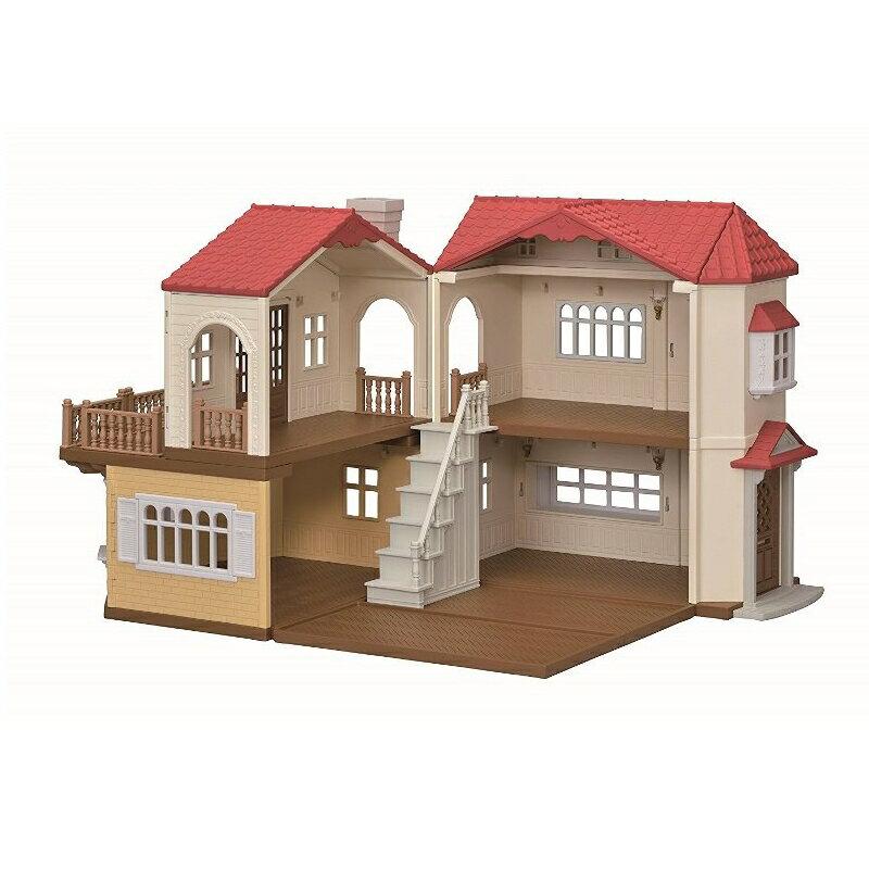 シルバニアファミリー SFハウス ハー48 赤い屋根の大きなお家